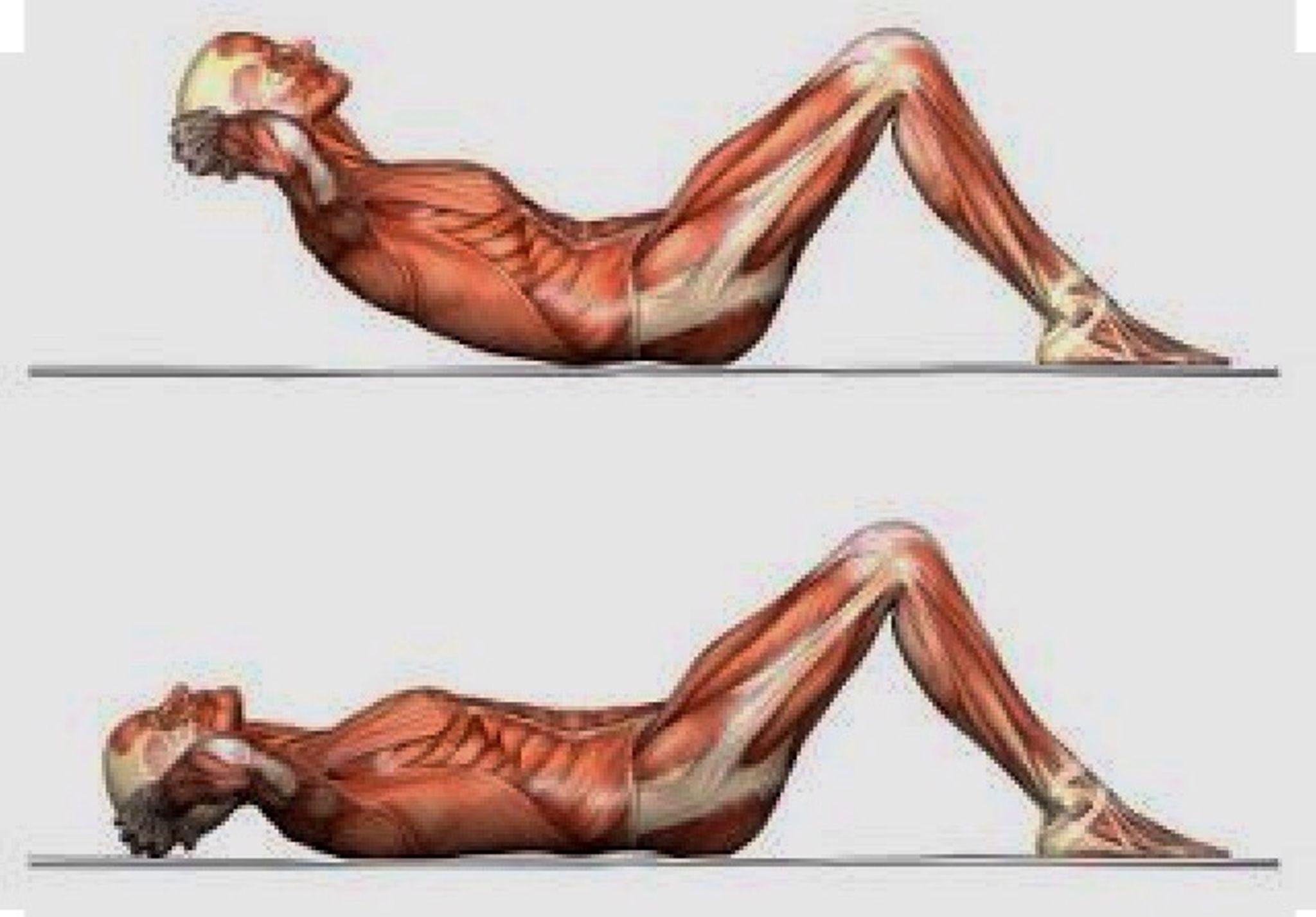 Как сделать подъем туловища с пола на ноги