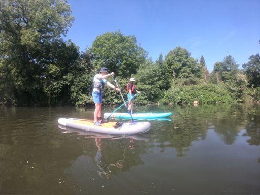 Canoe/SUP along the River Avon