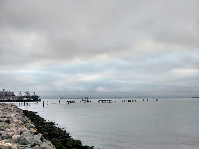 Usual morning run view.