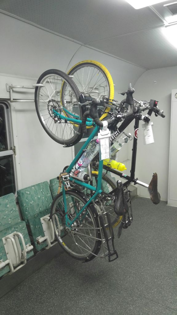 Bike wagon on the Zagreb-Split night train