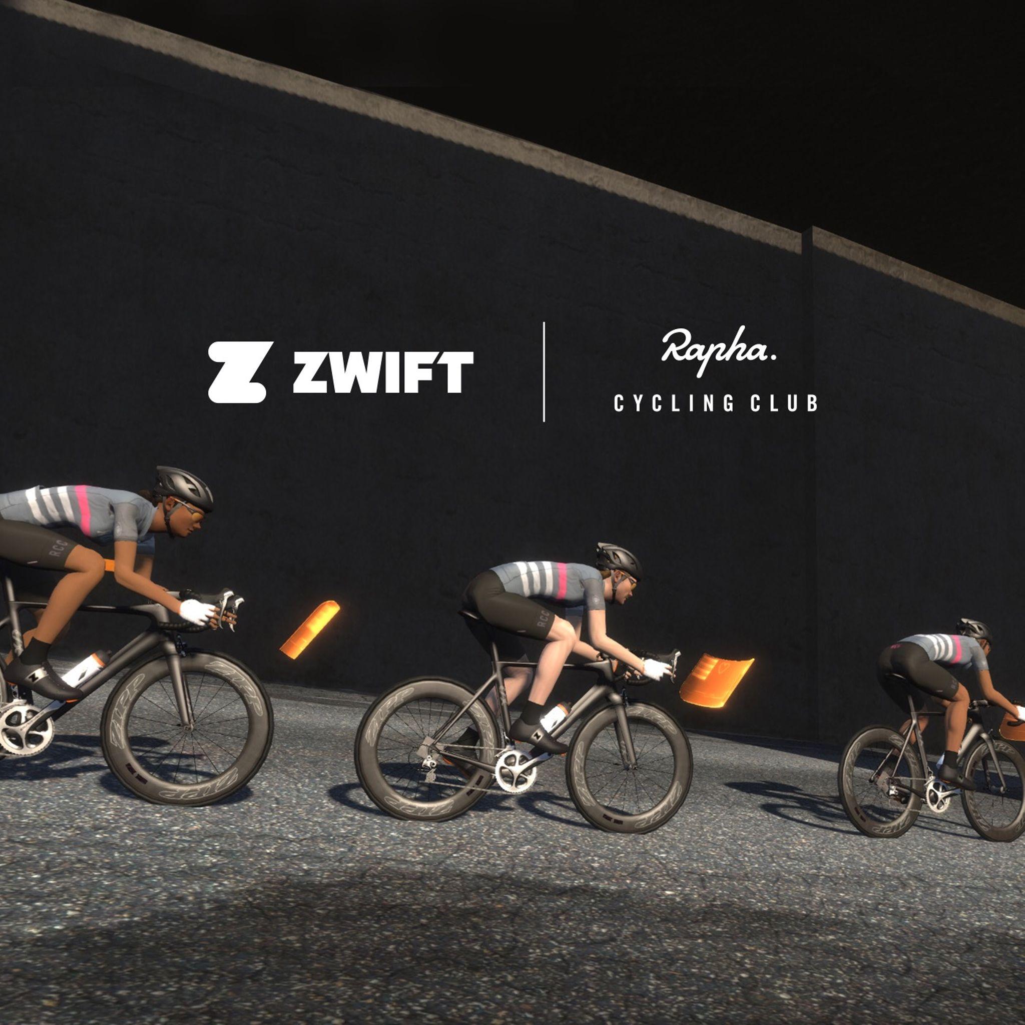 Rapha Cycling Club x Zwift Training Camp | A post by Zwift on Strava