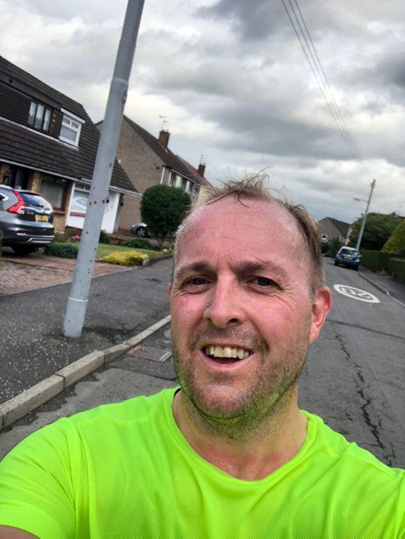 14.0 mi Run Activity on July 30, 2018 by Kristian H. on Strava