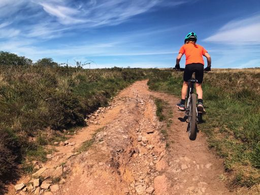 Long MTB ride with Izzy