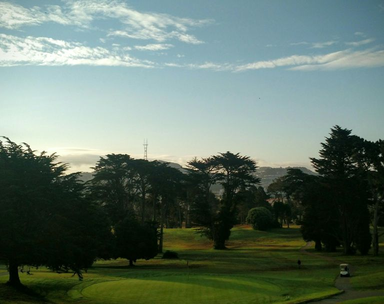 Sutro and a well-groomed golf course