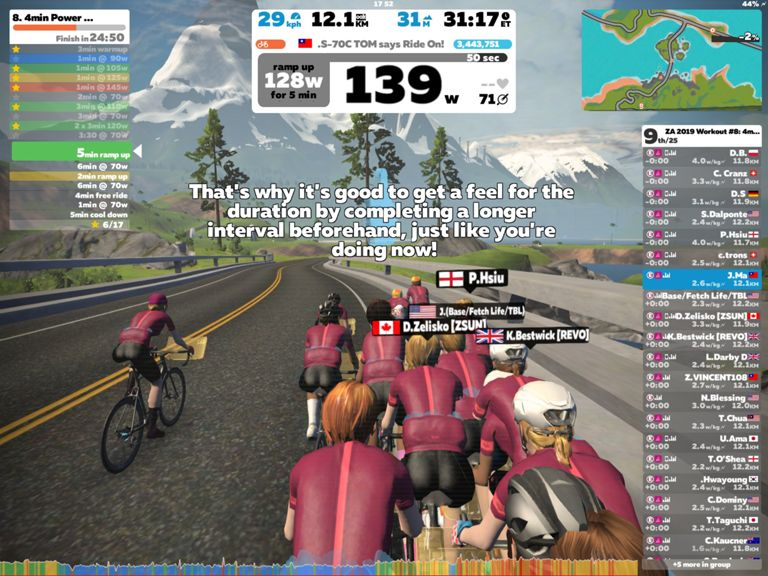 36 8 km Ride Activity on September 11, 2018 by Jasmine M  on